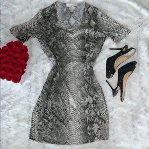Stella McCartney silk snake print dress